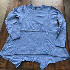 The Limited Lightweight Blue Sweater